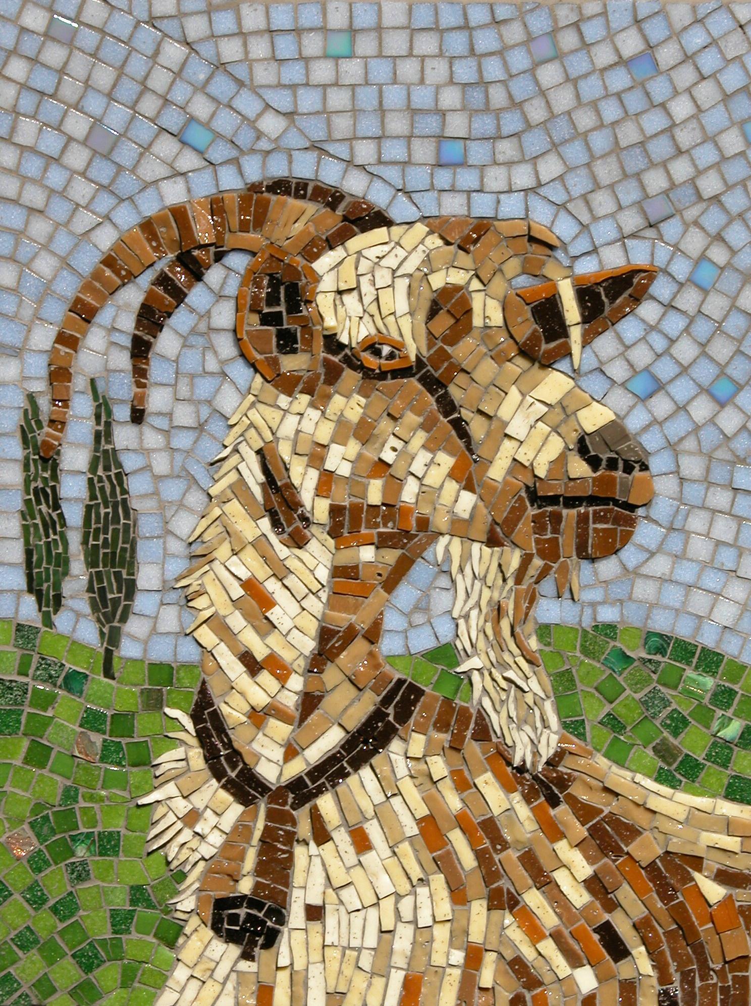 Terra y Sol geit mozaiek