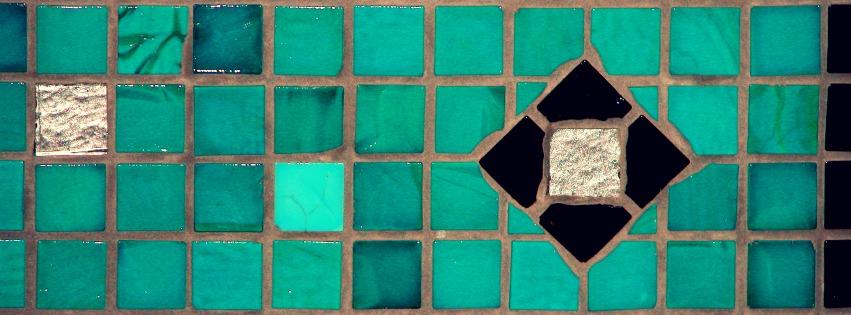 Terra y Sol glas mozaiek