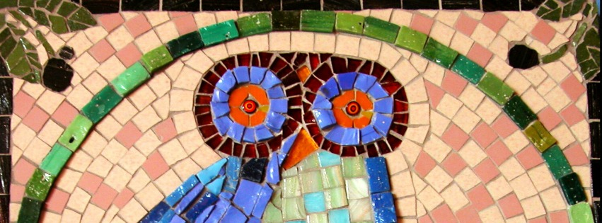 Terra y Sol uil mozaiek